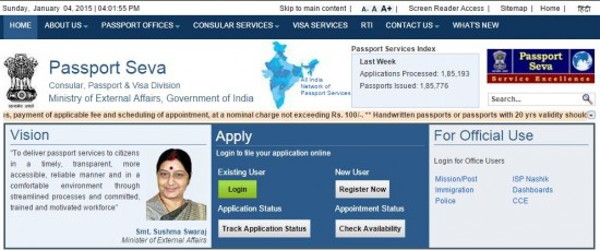 Applying New or Renew Passport Chennai