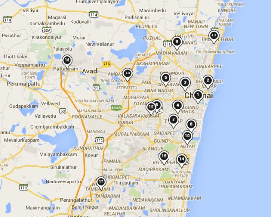 Samsung Mobile Service Center Location Map